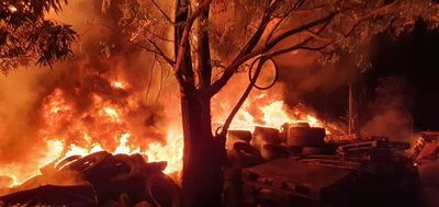 El incendio en Capiatá habría sido provocado