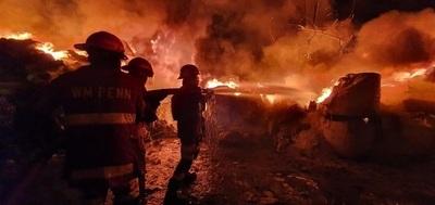 Adictos provocaron voraz incendio en Capiatá, sospechan