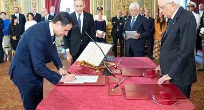 El nuevo Gobierno de Italia presta juramento