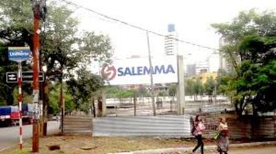 Piden informe sobre predio donde se construye el supermercado Salemma
