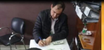 Movilizaba USD 330.000 sin declarar