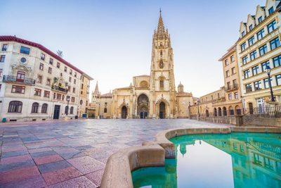 Estilo prerrománico impregnado en Oviedo