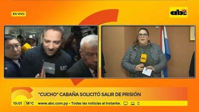 """""""Cucho"""" Cabaña solicitó salir de prisión"""
