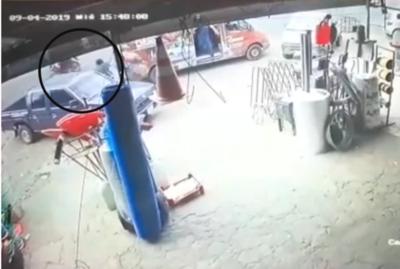HOY / Falleció joven asaltado y baleado por motochorros en Luque