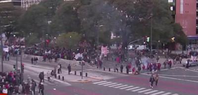 Masiva protesta para declarar Argentina en emergencia alimentaria