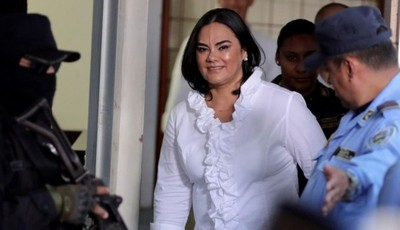 Ex primera dama hondureña es condenada a 58 años de prisión