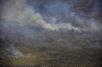 Reportan 34 nuevos focos de incendio en el Alto Chaco
