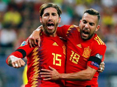 España e Italia siguen su camino imparable hacia la Eurocopa 2020