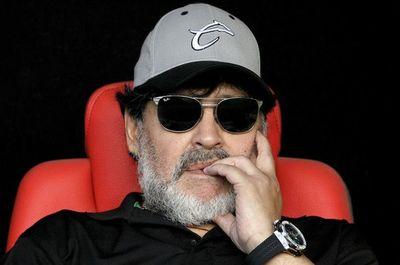 Maradona llega a Gimnasia y Esgrima