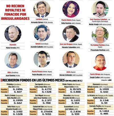 Suman 11 intendencias bloqueadas  y otras 12 ya reciben fondos de Itaipú