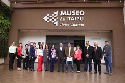 SNC e Itaipu trabajarán para proteger el patrimonio cultural del país