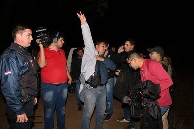 Periodista aseguró no sentir miedo durante negociación con reos fugados