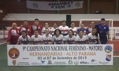 Hoy surgen los finalistas del Nacional Femenino de fútbol de salón