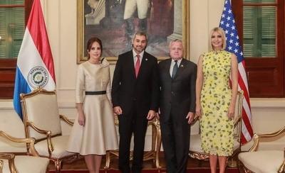 """HOY / Ivanka Trump destaca la fuerte amistad de Paraguay y EEUU: """"Vamos a duplicar el compromiso"""""""