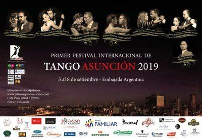 Continúa este viernes, Primer Festival Internacional de Tango Asunción 2019