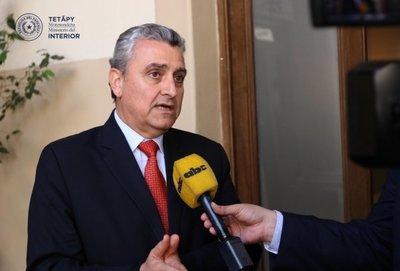 Ministro del Interior destaca labor policial en Penitenciaría de Encarnación