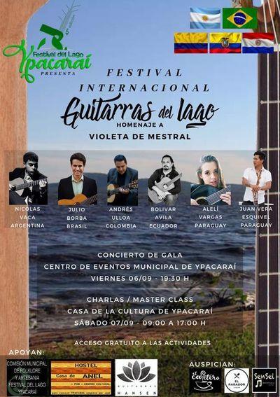 Noche de Guitarras en el Festival del Lago Ypacaraí
