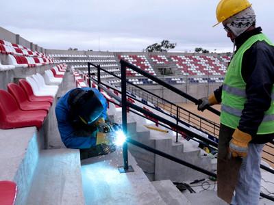 APF muestra el avance de las obras