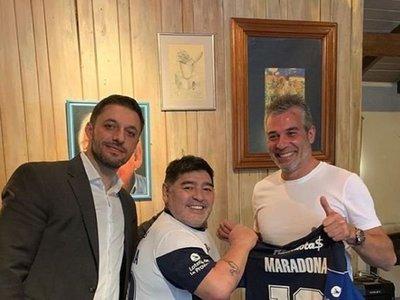 """Menotti está """"feliz"""" de que Maradona sea el nuevo entrenador de Gimnasia"""