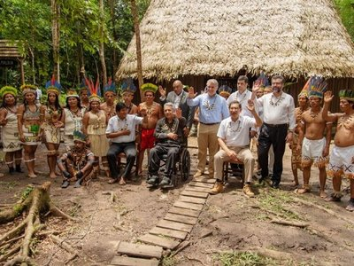 Países amazónicos prometen  pasar a la acción para proteger la selva