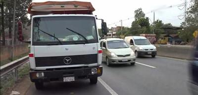 Fatal accidente sobre ruta 2
