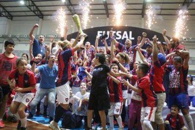 Cerro es campeón en Femenino
