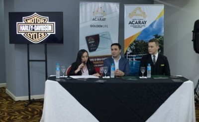 """Hotel Casino Acaray lanzó promoción """"Harley Acaray Route"""""""