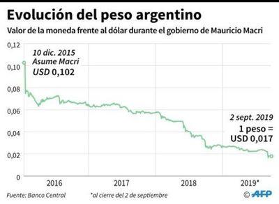 """""""Blue"""" o """"cuevas"""", la jerga del dólar que resurge con la crisis argentina"""