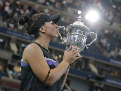 Bianca Andreescu conquista el Abierto de Estados Unidos