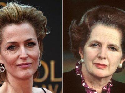 Gillian Anderson encarnará a Margaret Thatcher