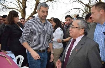 """HOY / Abdo sostiene que el crimen organizado """"está incómodo"""" en el país"""