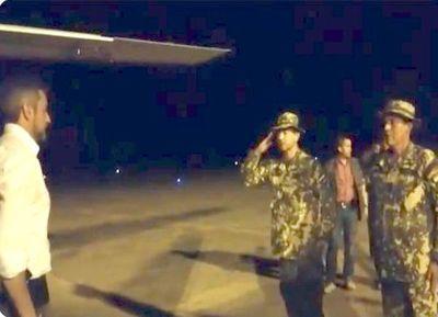 Mario Abdo regresó de urgencia al Chaco