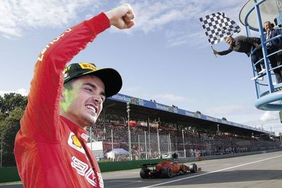 Leclerc, nuevo héroe de Ferrari