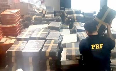 Incautan 4,6 toneladas de marihuana ocultos en un cisterna