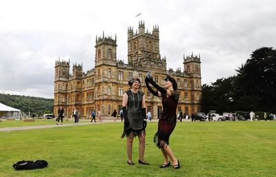 """La fiebre """"Downton Abbey"""" llega al castillo inglés de Highclere"""