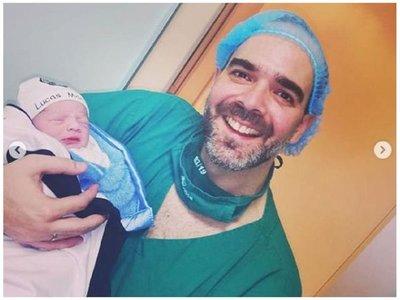 Alvaro anunció la llegada de su segundo hijo