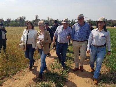 MAG e instituto seguirán apoyando escuelas agrícolas