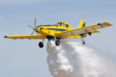 Se sumarán dos avionetas hidrantes para combatir incendios en el Chaco