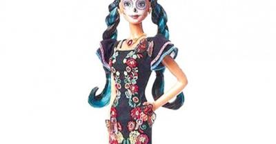 Polémica por la muñeca Barbie Día de Muertos