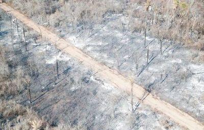 Reportan unas 140 nuevas bocas de incendio en el Dpto. de Alto Paraguay