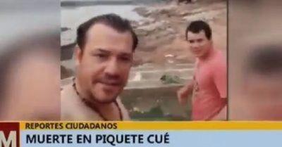 Se ahogó en el río Paraguay por un desafío de pack de cervezas