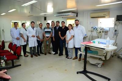 Con apoyo municipal, reactivan cama de terapia intensiva en el Hospital Regional