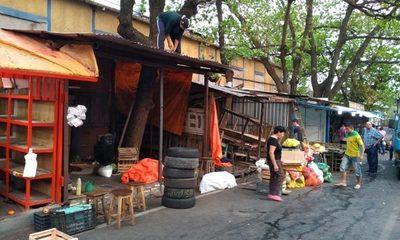 Desalojo de vendedores en Mercado de San Lorenzo