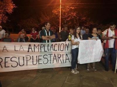 CONCEJALES DEBEN SALIR EN PATRULLERAS TRAS INCIDENTES CON MANIFESTANTES