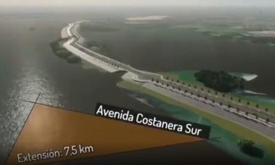 MOPC revela cómo será la Costanera Sur