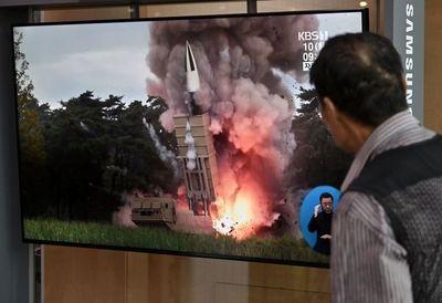Pionyang dispara misiles tras sugerir a Washington que quiere retomar diálogo