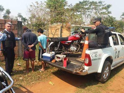 Reducen a tres presuntos criminales tras asalto en Ypané