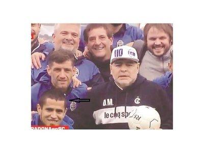 Víctor ovy'aiterei con llegada de Maradona