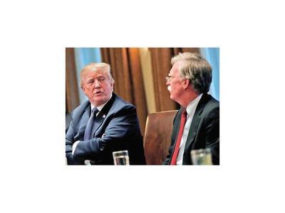 Donald Trump despide a su asesor de Seguridad Nacional John Bolton