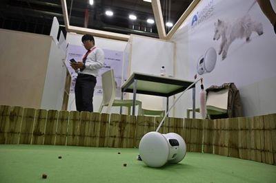 Retretes conectados y robots para animales domésticos